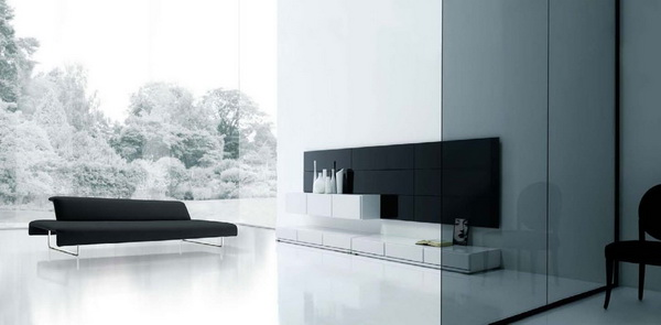 Đơn giản hóa màu sắc của sơn tường nhưng thật hiện đại